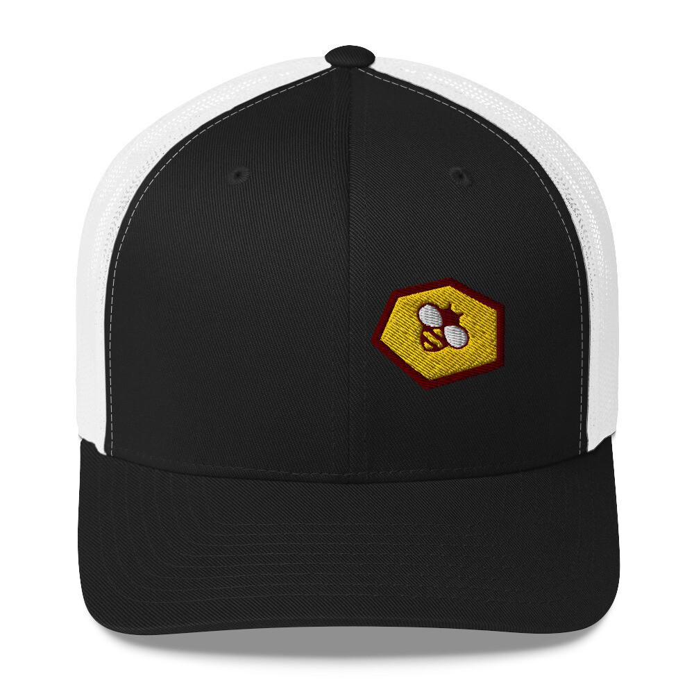 Bohemia Bee LOGO Trucker Cap