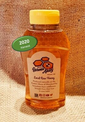 Raw Wildflower Honey 1lb (2020 Warwick MD)