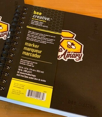 Bohemia Apiary Branded Marker Book, 5-1/2