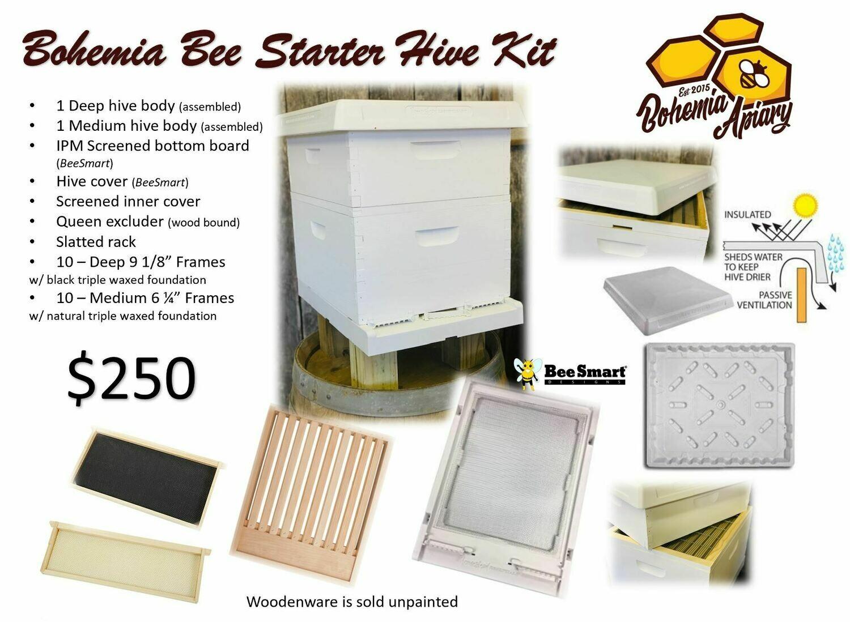 Bohemia Bee Starter Hive Kit