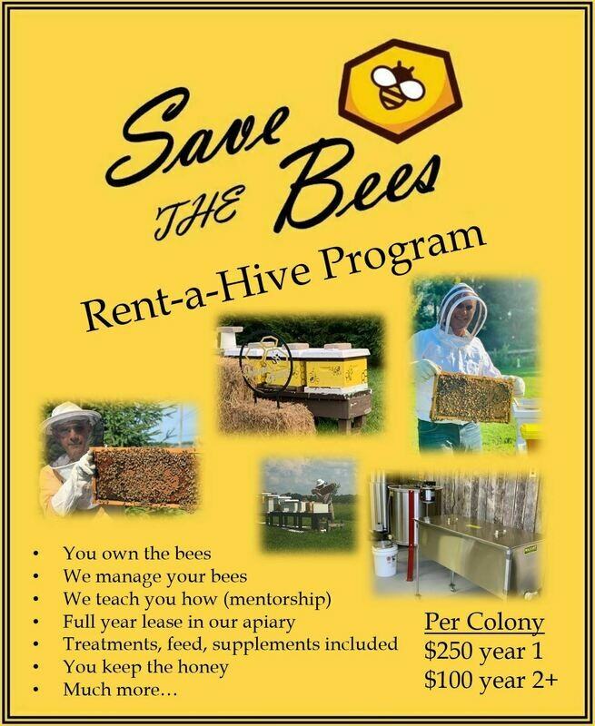 Rent a Beehive Program