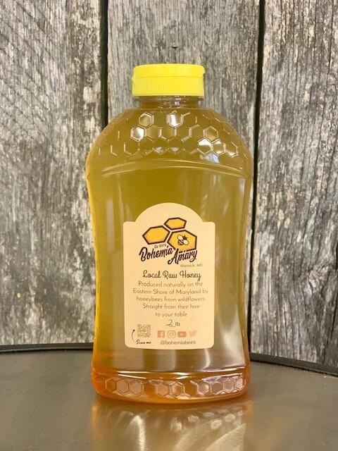 Raw Wildflower Honey ombre' 2lb (2020&2021 Warwick MD)