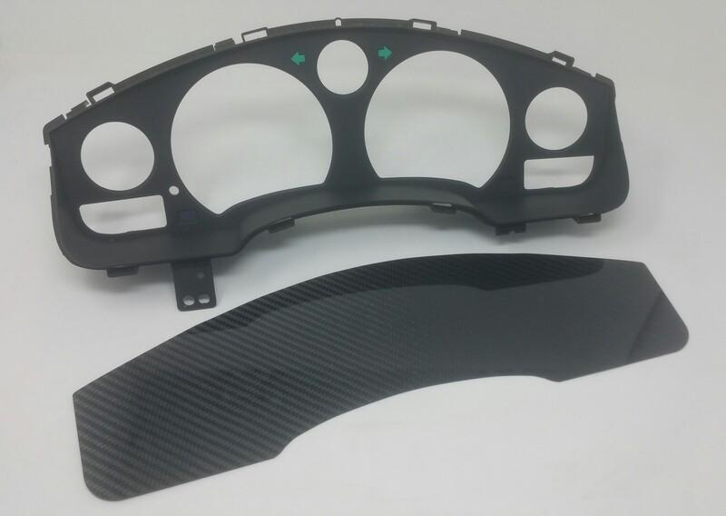 SW20 Carbon Fiber Dash Insert