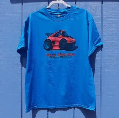 Car-Tooned Shirt Hux Racing Teal