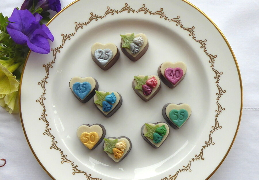 Milestone Anniversary Chocolates