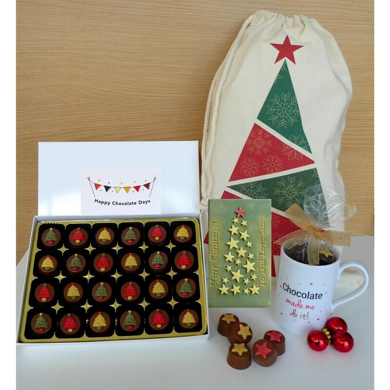 Ultimate Christmas Gift Sack with 4 gift items