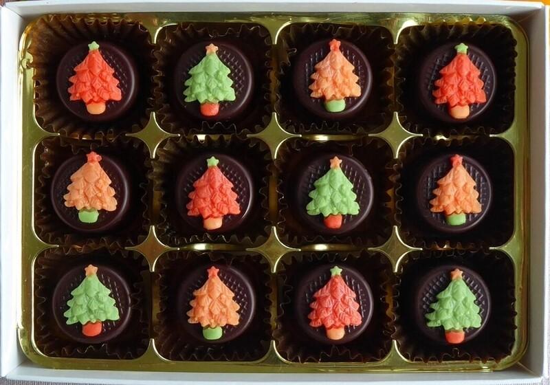 Chocolate Orange Tiny Trees!