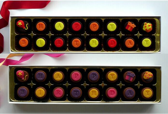 Happy Birthday! - choice of colours