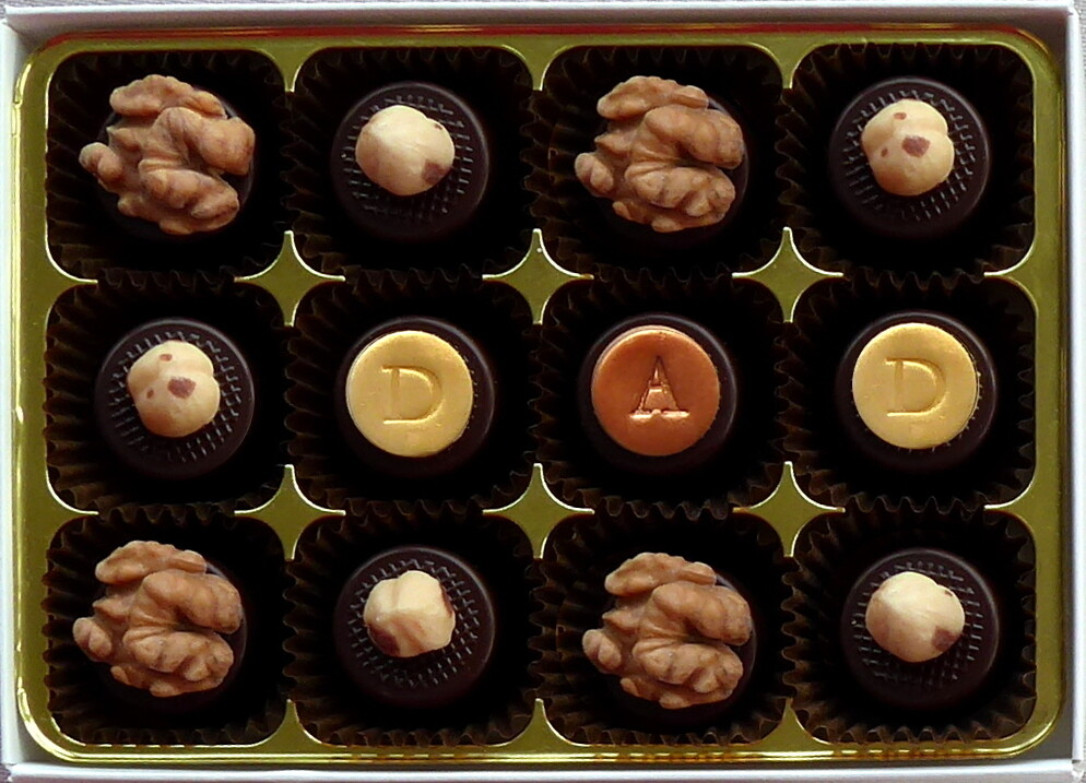 Go Nuts! - fondant chocolates