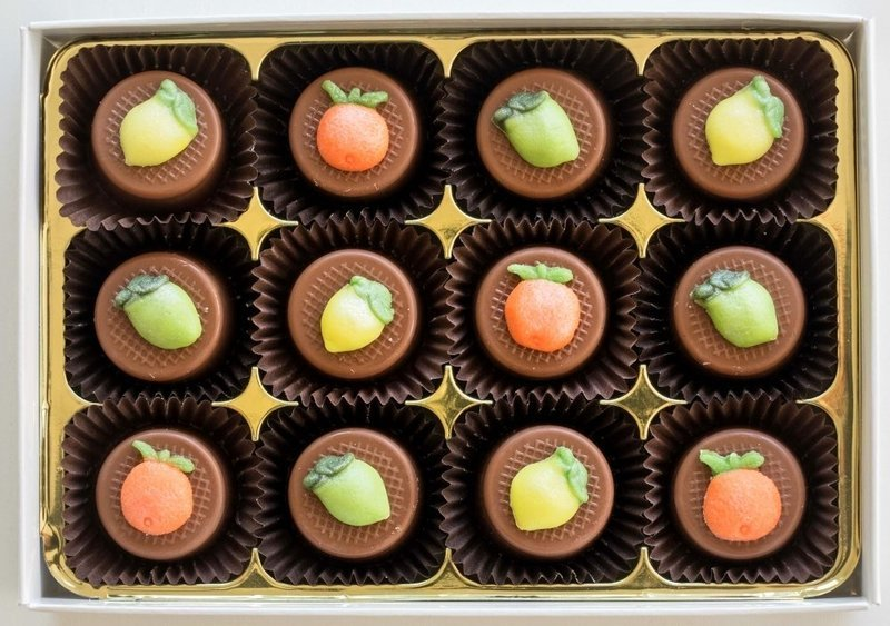 Citrus Trio - fondant chocolates