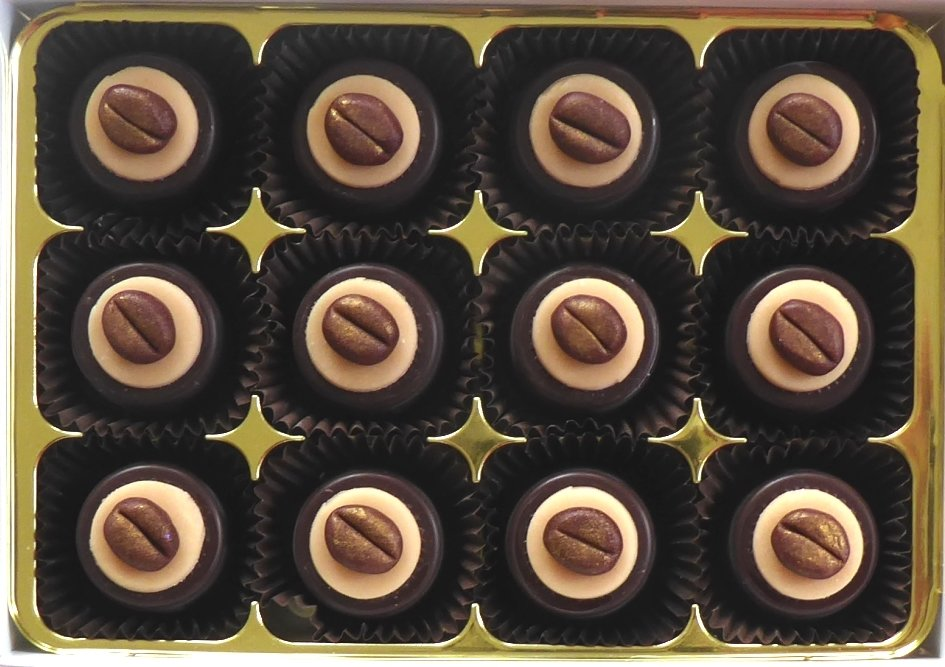 Cappuccino - fondant chocolates