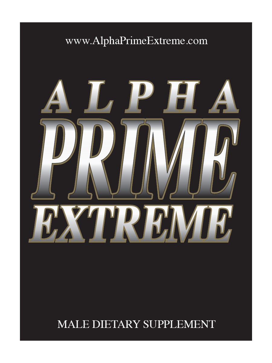 Alpha Prime Extreme- All Natural Male Enhancement Supplement  – Twenty Pack
