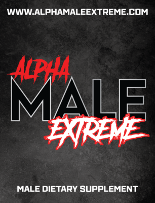 Alpha Male Extreme- All Natural Male Enhancement Supplement  – Three Pack