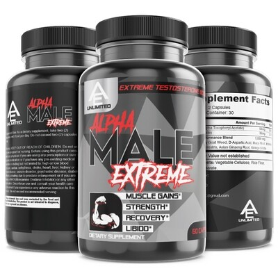 ALPHA MALE EXTREME - EXTREME TESTOSTERONE BOOSTER