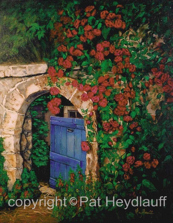 Garden Gate CNV122 / 20x24