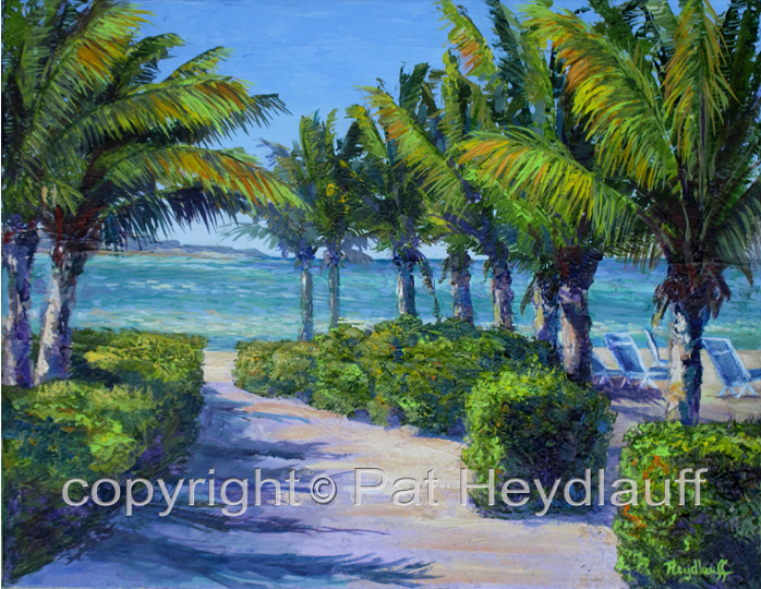 Beach Time CNV180 / 20 x 16