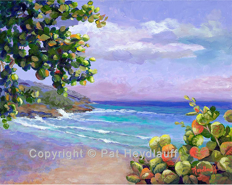 Caribbean Waves- 20 x 16 OGP004
