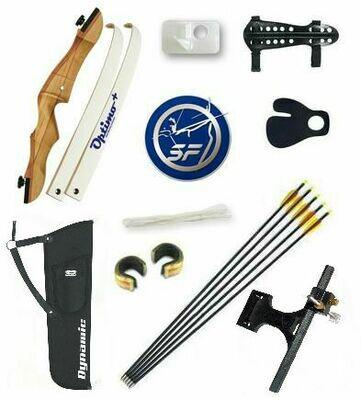 Лучный набор -  Лук классический с набором аксессуаров Archery Kit Silver