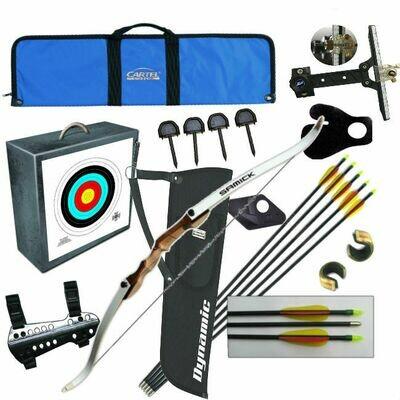 Лучный набор - Лук классический с набором аксессуаров Archery Kit Expert