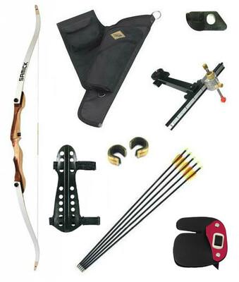 Лучный набор -  Лук классический с набором аксессуаров Archery Kit Gold