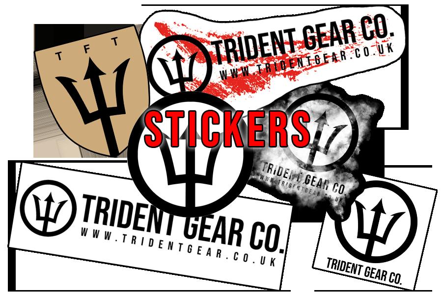 Trident Gear Sticker Set