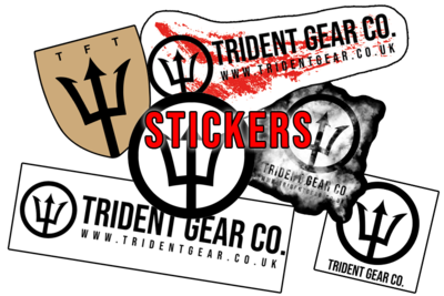Trident Gear Sticker Set