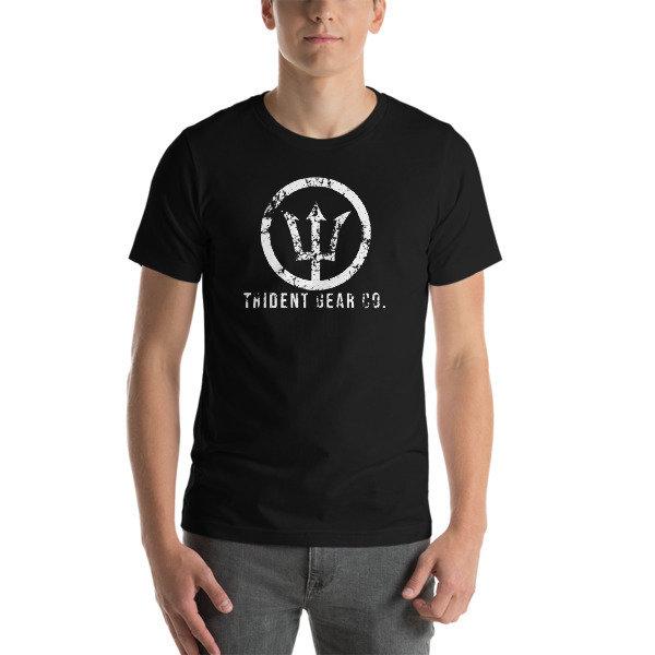 Trident Gear Grunge Logo (Light Print)