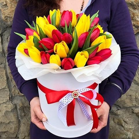 Тюльпаны в аквабоксе