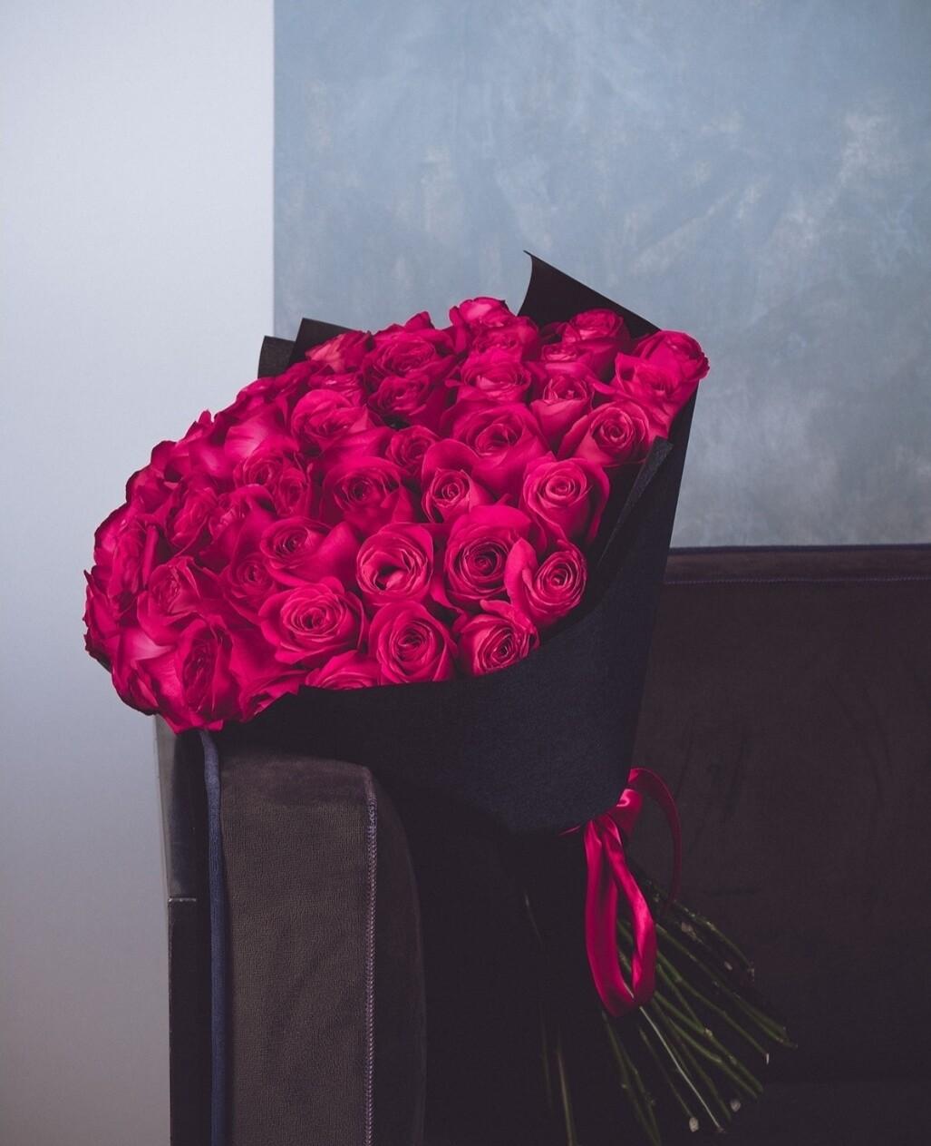 "49 роз ""Pink Floyd"""
