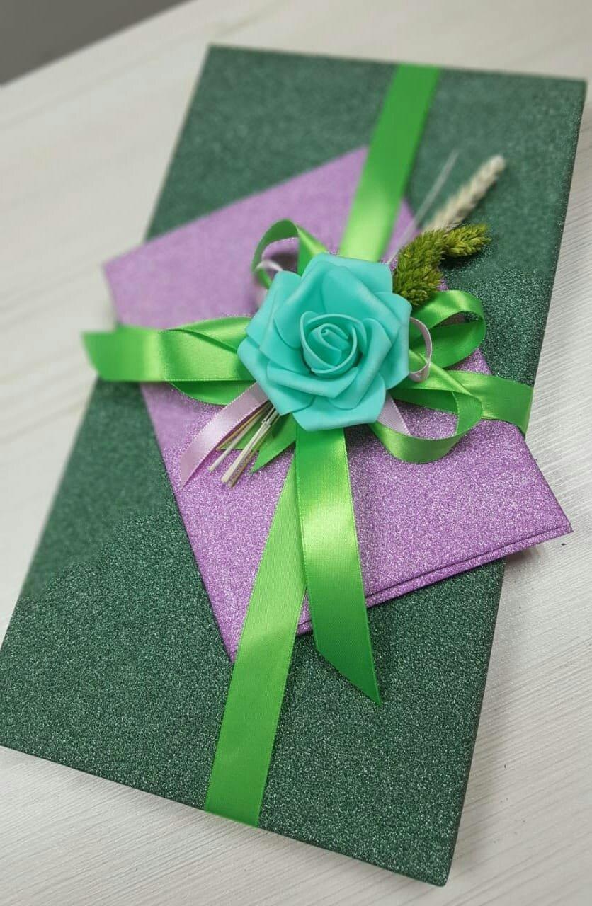 Конфеты коркунов+деревянная открытка