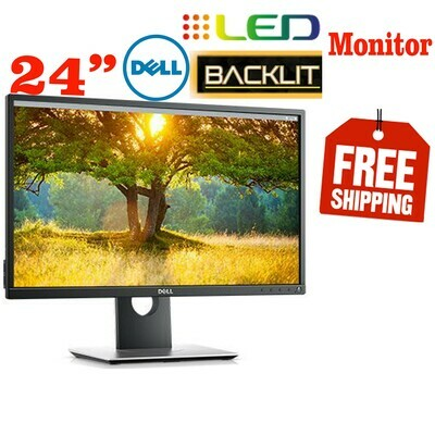 """Dell 2412MB 24"""" LED Backlit LCD Computer Monitor Full HD (1080p)"""
