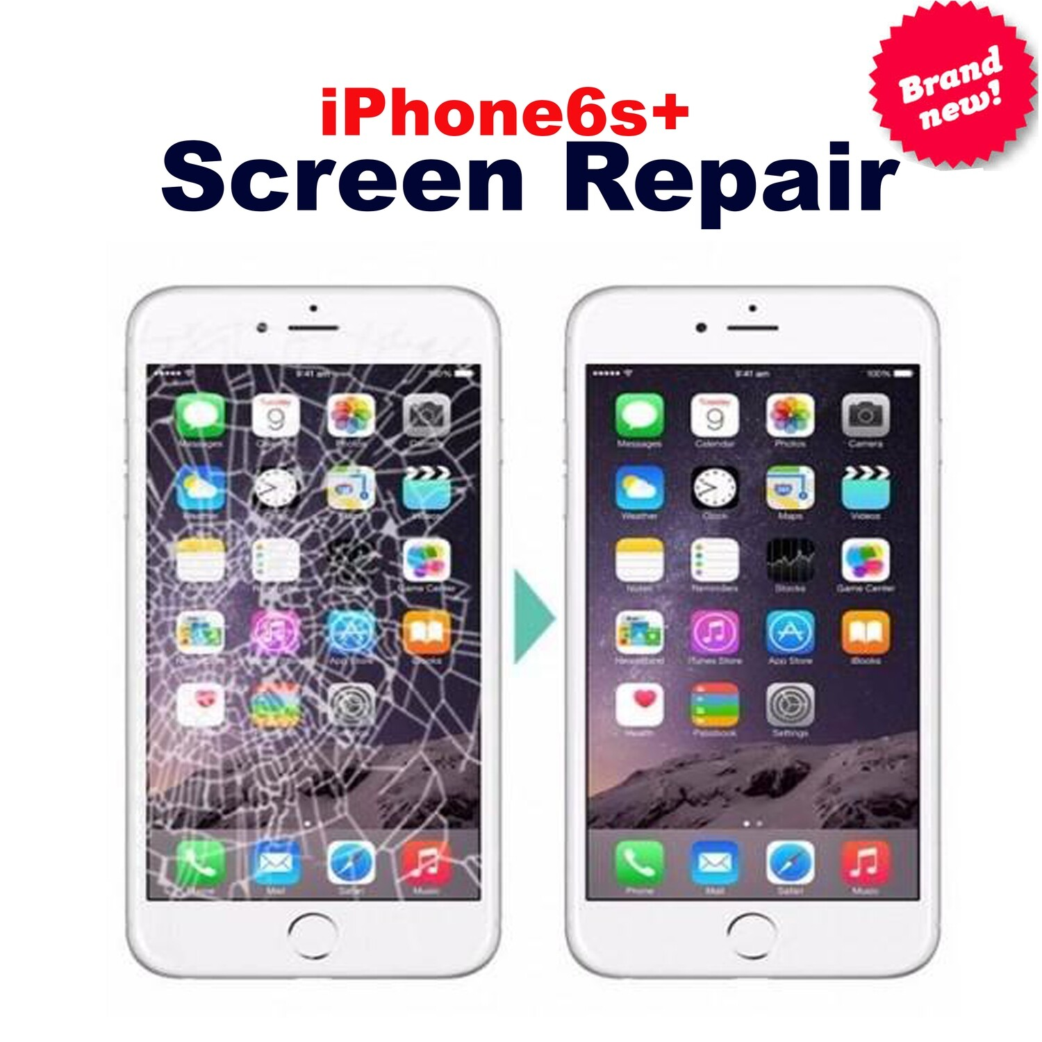iPhone 6+ , 6S+ Screen Replacement