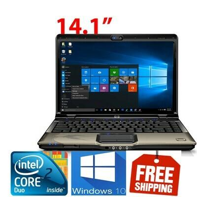 "HP pavilion DV2000 C2D-T7500 2 GB 160 GB-14.1"" HD Graphics Notebook Laptop Win7"