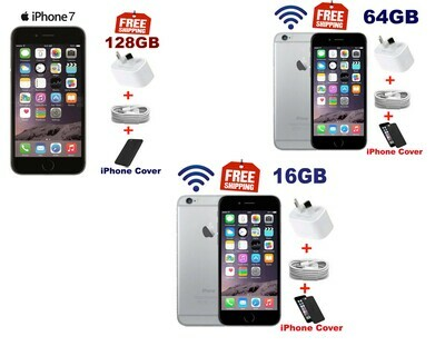 iPhone 6, iPhone 7 16 GB, 64 GB  128 GB  Touchscreen 64 GB WiFi Unlocked smart phone