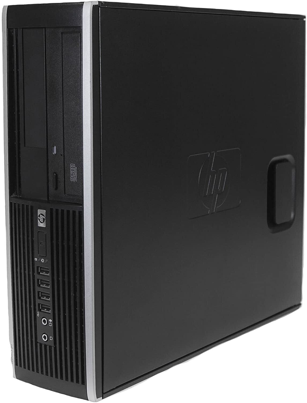 HP Compaq Elite 8100 SFF Desktop PC i5 2.4 GHz 8 GB 500 GB ATI Radeon 6450 HD Graphics Win10 PRO