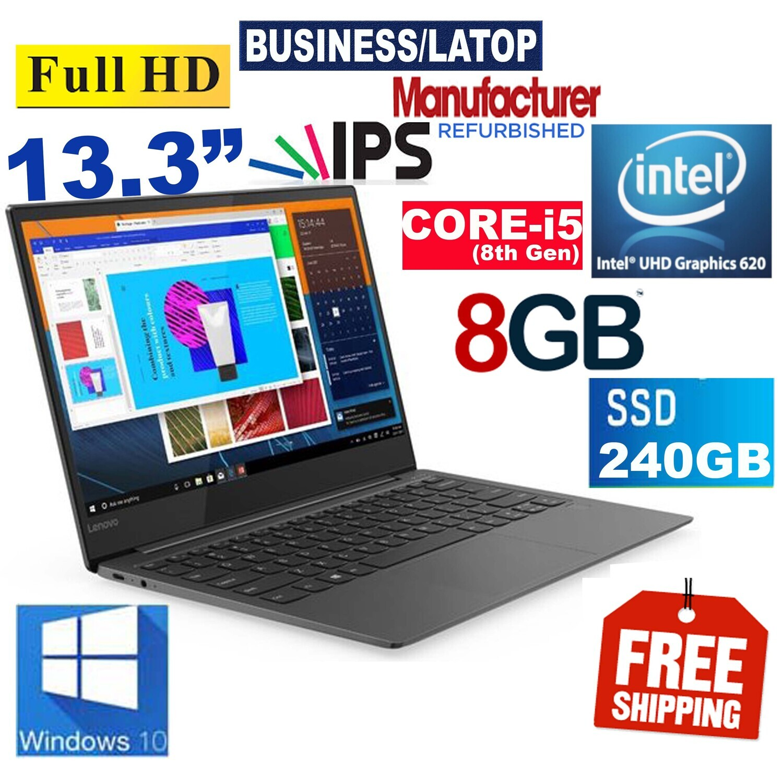 Lenovo Yoga S730-13IWL(13.3″ Full HD IPS Laptop)i5-8265U 8GB 240GB SSD Win10 PRO