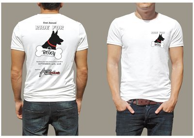 2018 Ride for Roxy Benefit T-Shirt