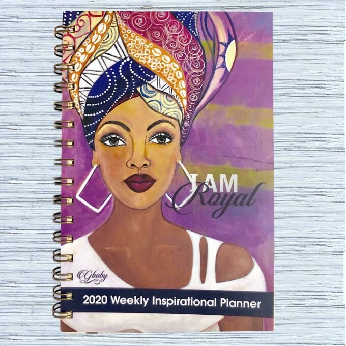 I AM ROYAL 2020 INSPIRATIONAL WEEKLY PLANNER