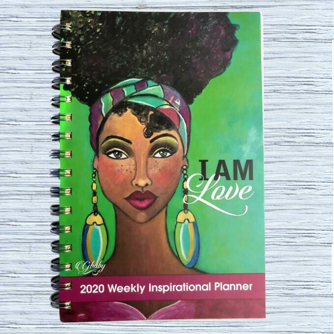 I AM LOVE 2020 INSPIRATIONAL WEEKLY PLANNER