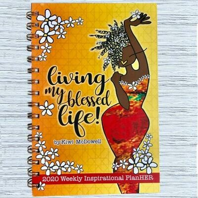 LIVING MY BLESSED LIFE 2020 INSPIRATIONAL ENGAGEMENT PLANNERS