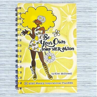 BE YOUR OWN INSPHERATION 2020 WEEKLY INSPIRATIONAL PLANNER