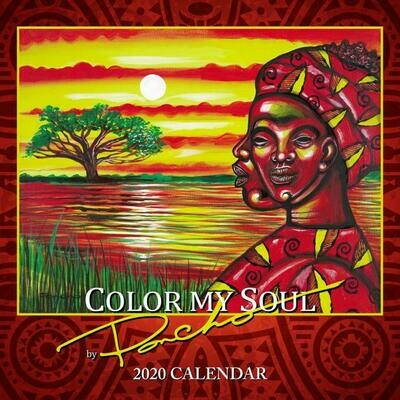 COLOR MY SOUL 2020 AFRICAN AMERICAN WALL CALENDAR