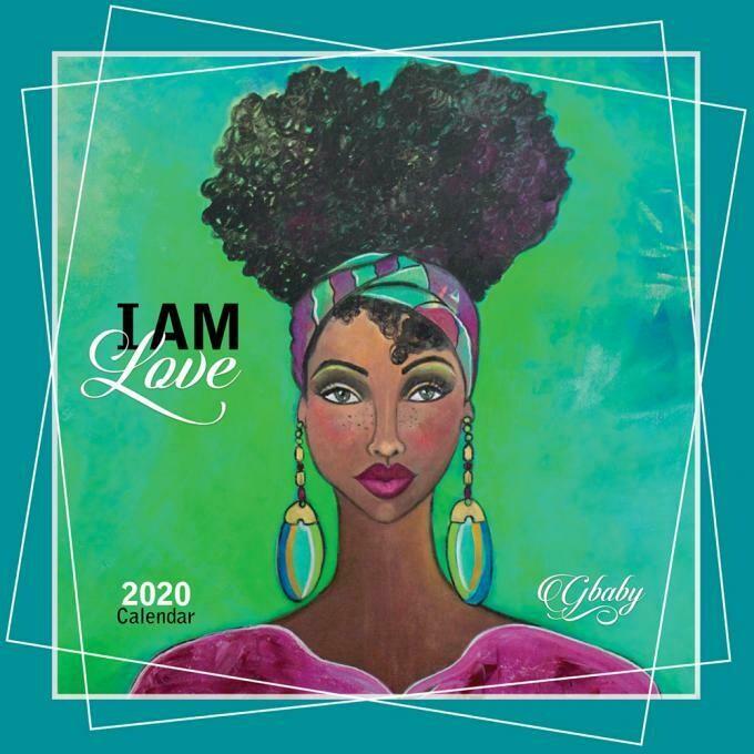 I AM 2020 AFRICAN AMERICAN WALL CALENDAR