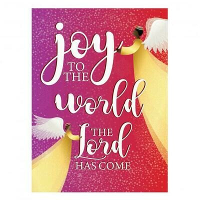 JOY TO THE WORLD BOXED HOLIDAY CARDS
