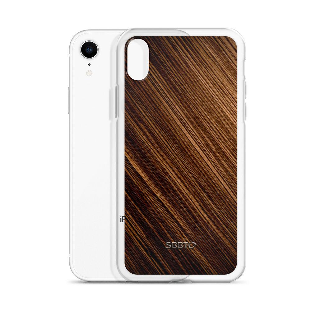 Walnut Oak Wood iPhone Case