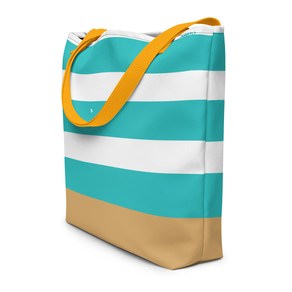 Beach Bag with Large Inside Pocket