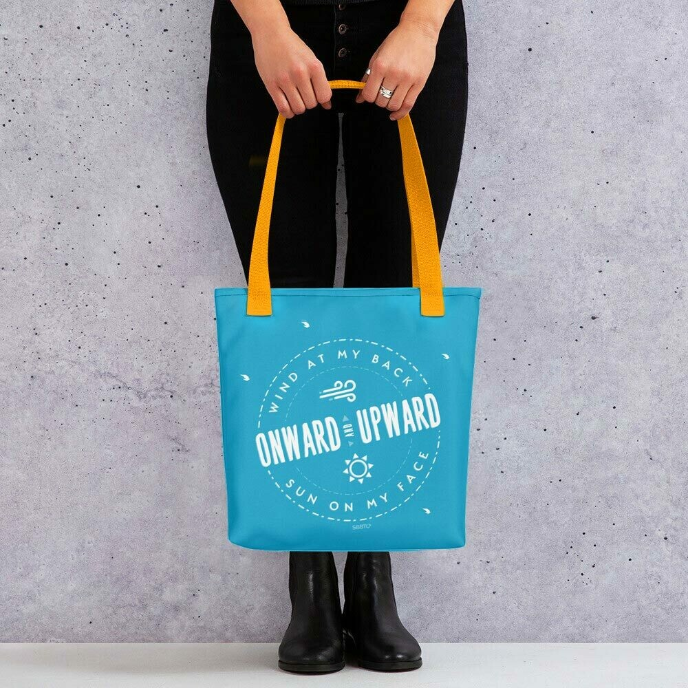 Inspirational Travel Tote Bag