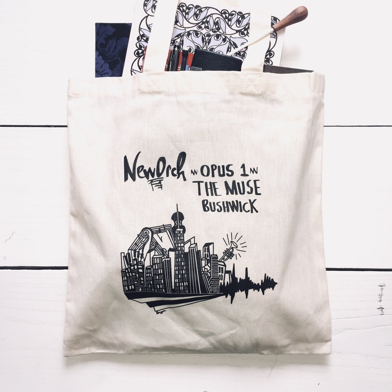 Official Opus 1 Tote bag