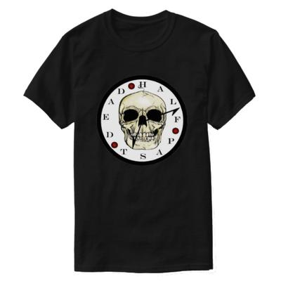 Skull Clock T-Shirt (Unisex)