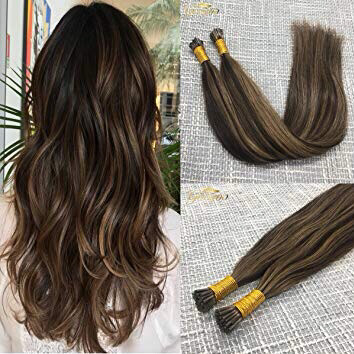 Dream Catchers 100% Remy Human I-tip Hair Extensions